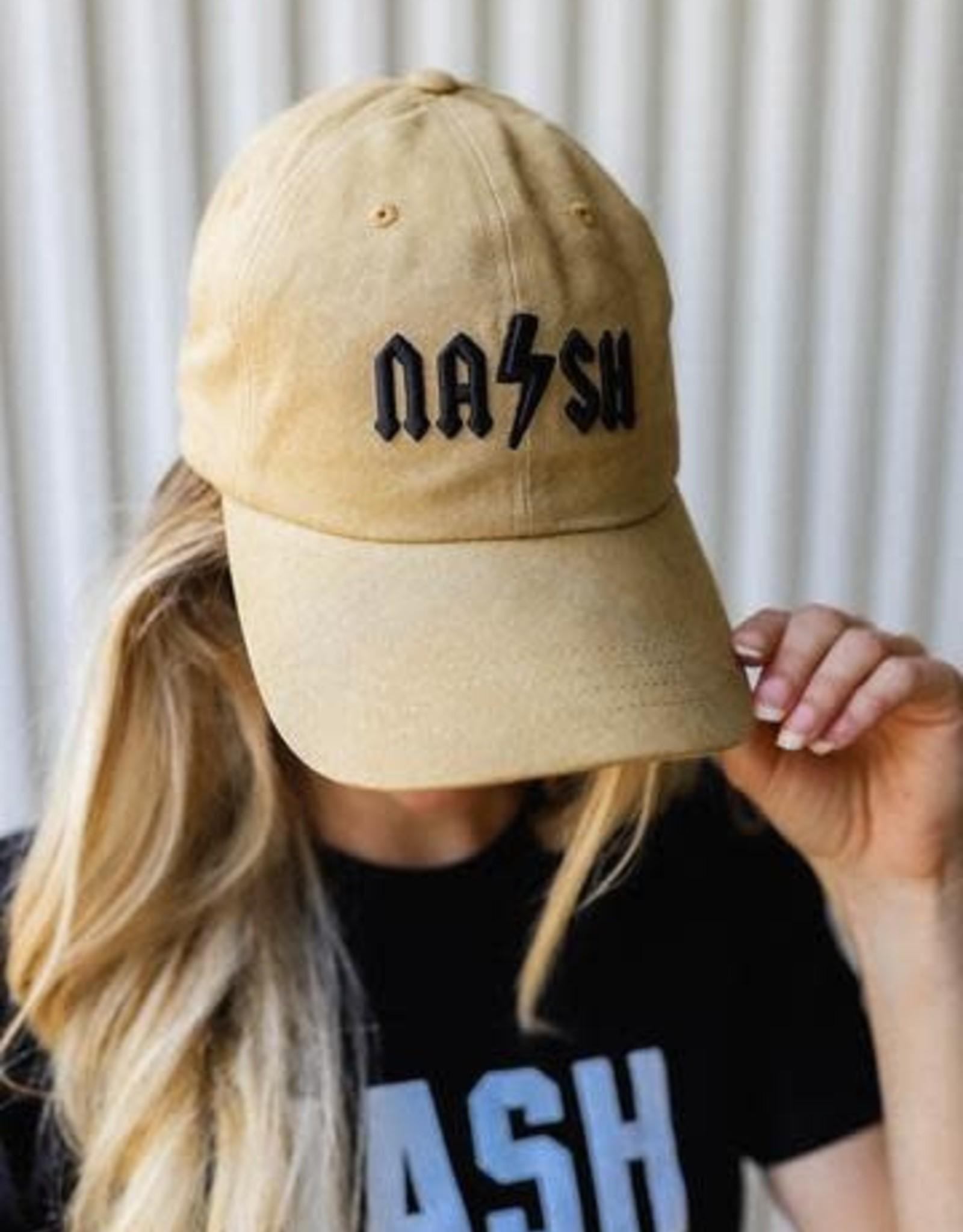 Nash Collection The Nash Collection Classic Rock Baseball Hat- Barley