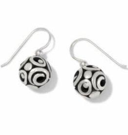 Brighton Brighton Earrings Contempo Sphere French Wire  Silver OS