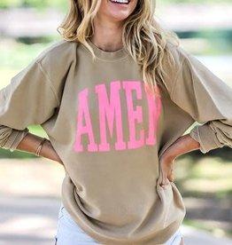 The Light Blonde- AMEN sweatshirt