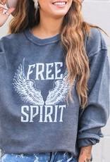 The Light Blonde Free Spirit Corded Pullover