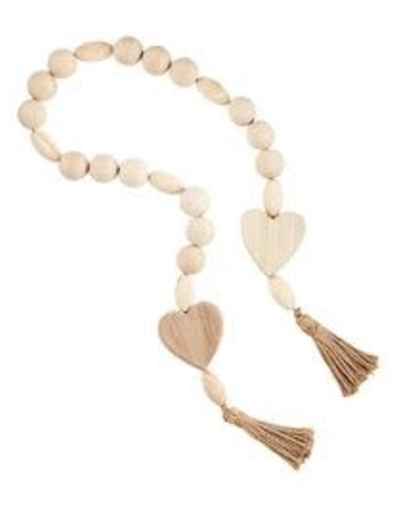 MudPie MudPie Oversized Wood Beads