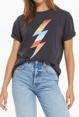 Z Supply Z Supply Multi Bolt Boyfriend Tshirt