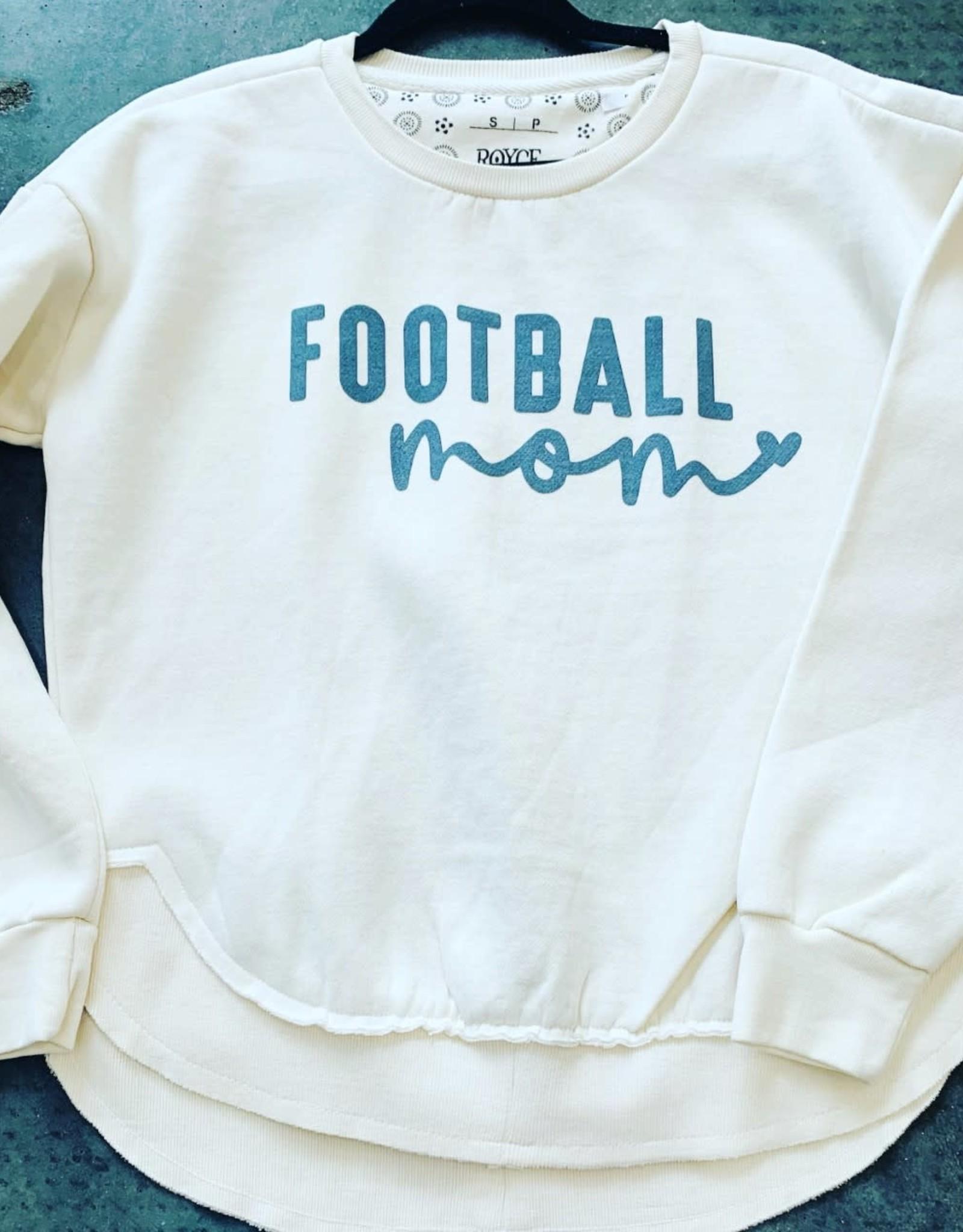 Campus Sweatshirt- Football Mom
