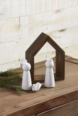 MudPie Mudpie Ceramic Nativity