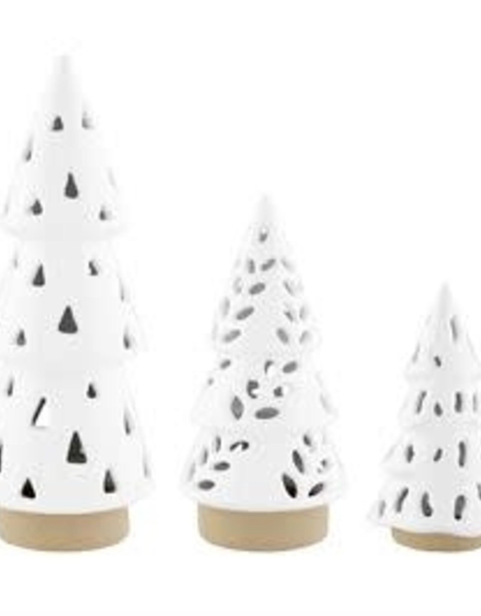 MudPie MudPie Ceramic Tree Lantern