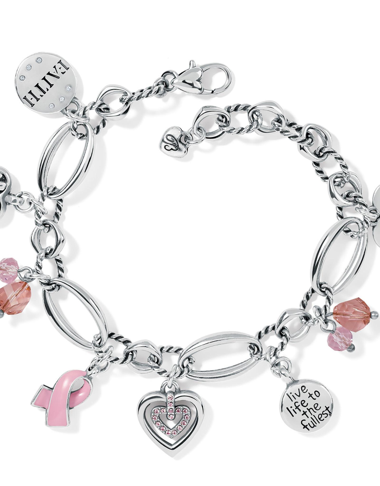 MudPie Brighton Power of Pink Bracelet 2021