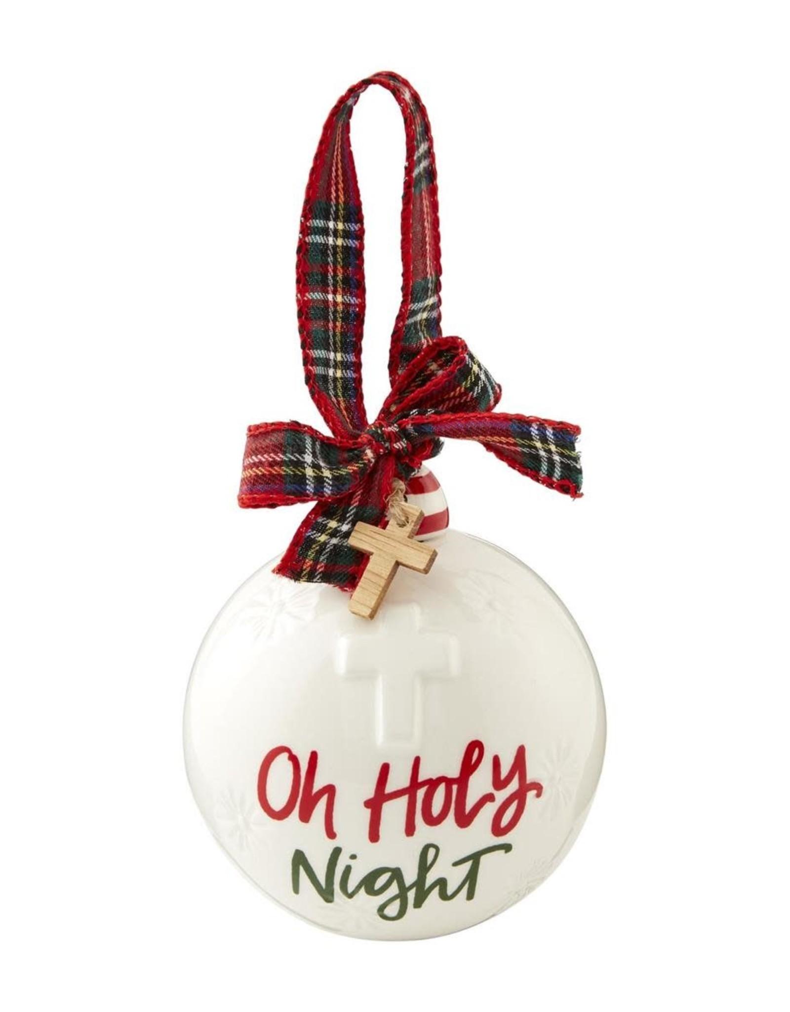 MudPie MudPie O Holy Night Ball Ornament