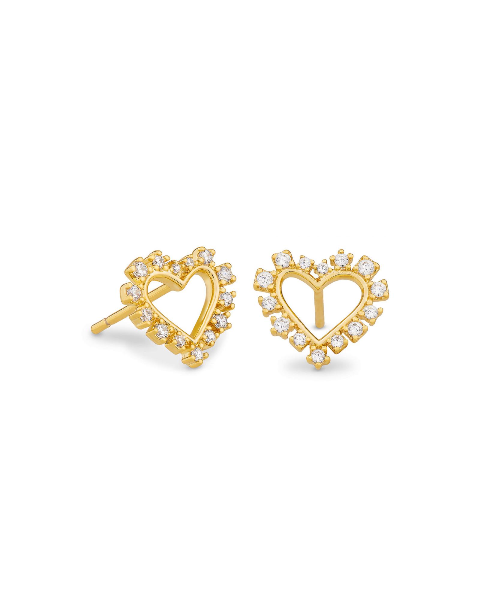 Kendra Scott Kendra Scott Ari Heart Open Frame Earrings