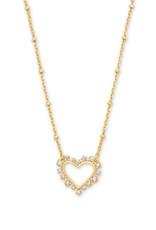Kendra Scott Kendra Scott Ari Heart Open Frame Necklace
