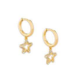 Kendra Scott Kendra Scott Jae Star Huggie Earrings