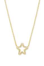 Kendra Scott Kendra Scott Jae Star Open Frame Necklace
