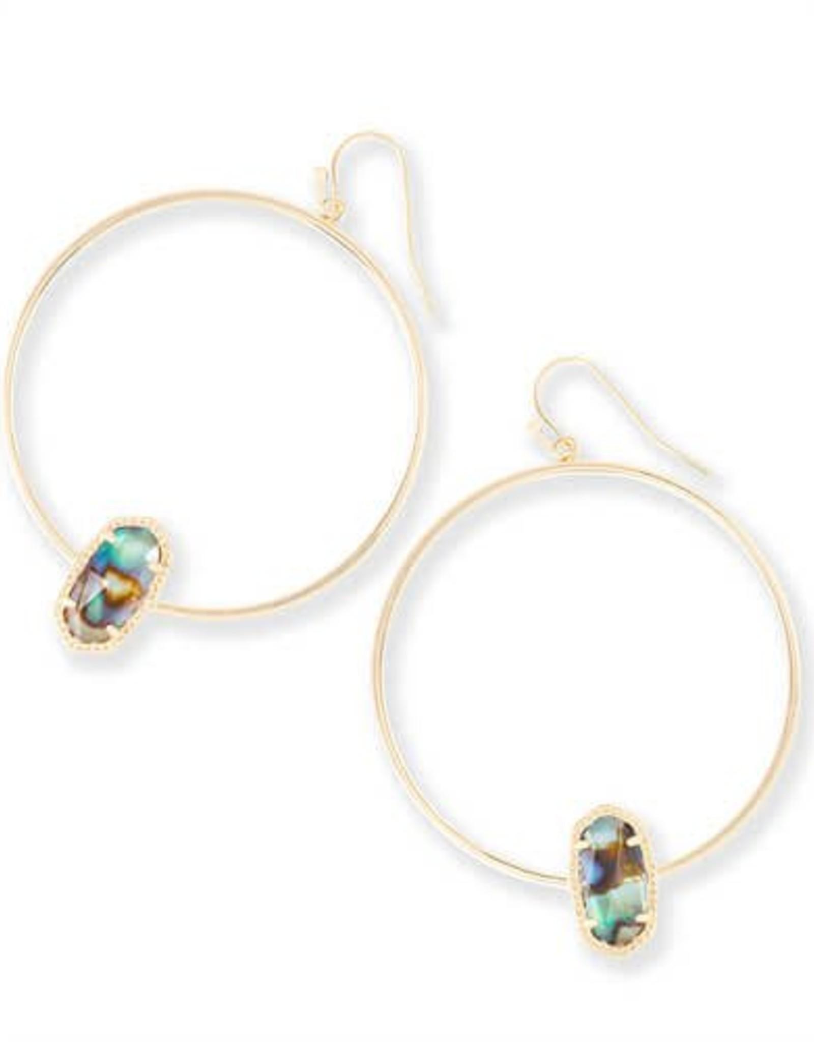 Kendra Scott KENDRA SCOTT Earrings Elora Hoop Gold