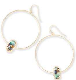 Kendra Scott KENDRA SCOTT Earrings Elora Hoop Gold
