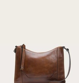 Frye Frye- Melissa Button Crossbody Cognac