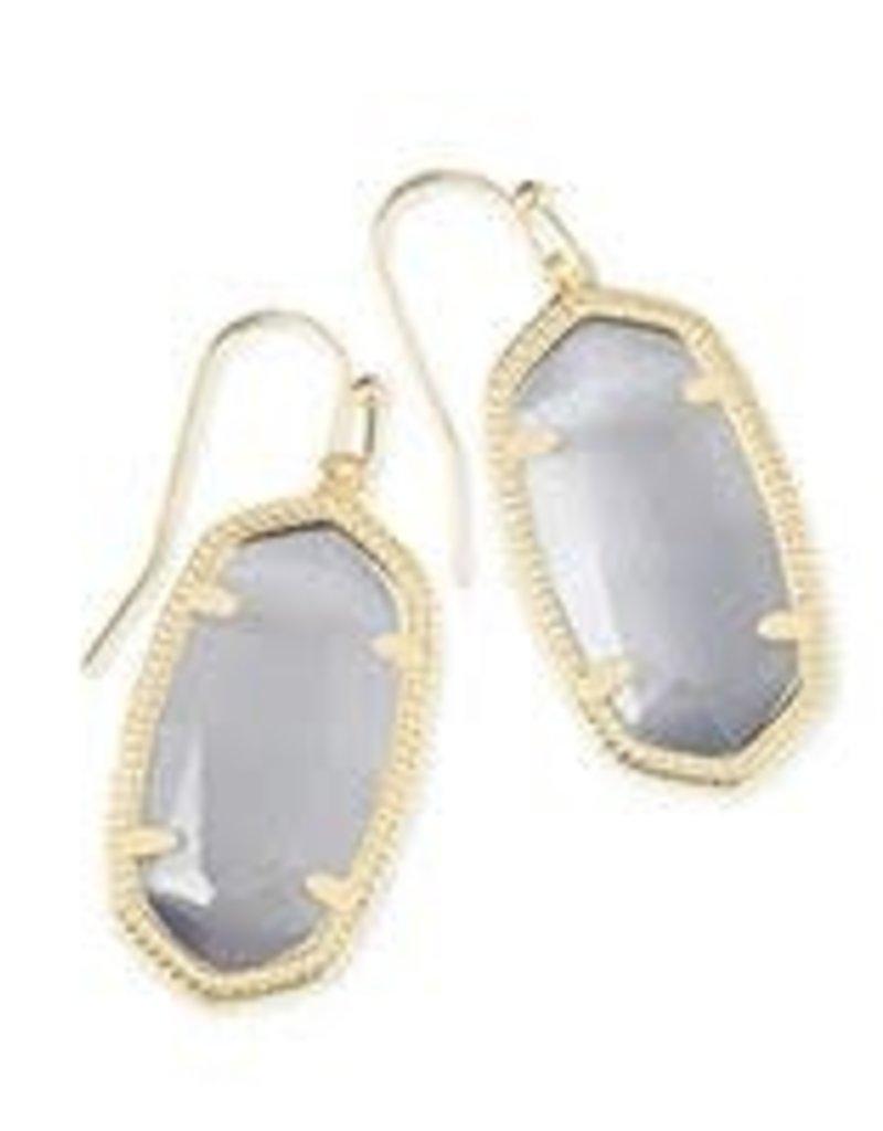 Kendra Scott KENDRA SCOTT Earrings Dani Gold/Grey Crystal