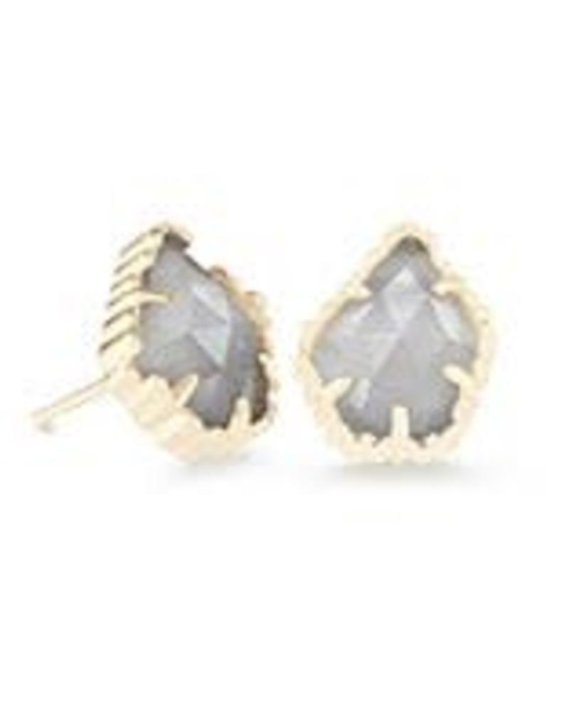 7358f7b02 Kendra Scott Slate Cat S Eye Earrings - Image Of Earring