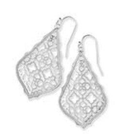 Kendra Scott KENDRA SCOTT Earrings Addie Rhodium