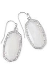 Kendra Scott KENDRA SCOTT Earrings Dani  Rhodium