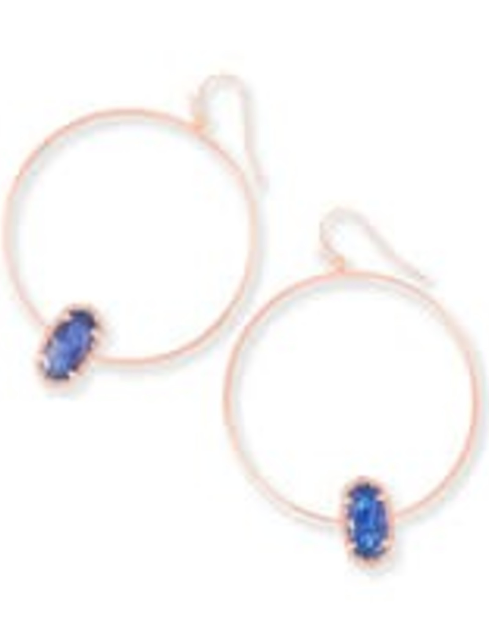 Kendra Scott KENDRA SCOTT Earrings Elora Hoop Ros Gold