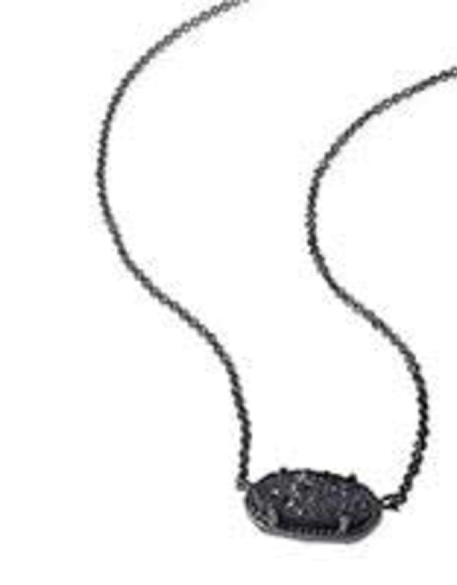Kendra Scott KENDRA SCOTT Necklace Elisa Gunmetal