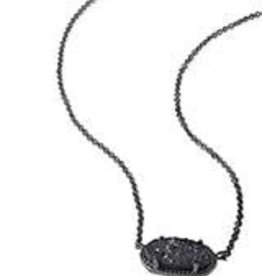 Kendra Scott KENDRA SCOTT Necklace Elisa Gunmetal