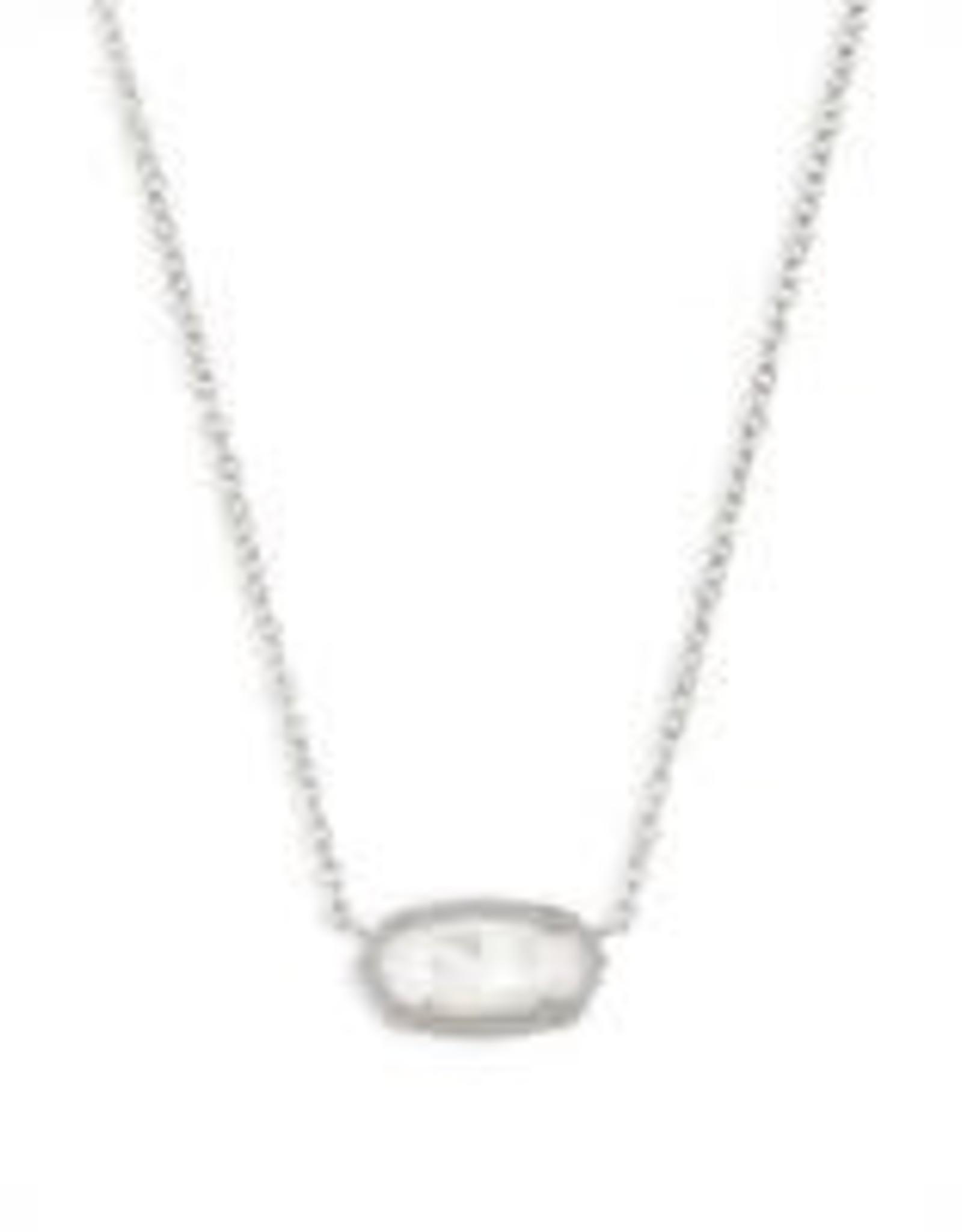 Kendra Scott KENDRA SCOTT Necklace Elisa Rhodium