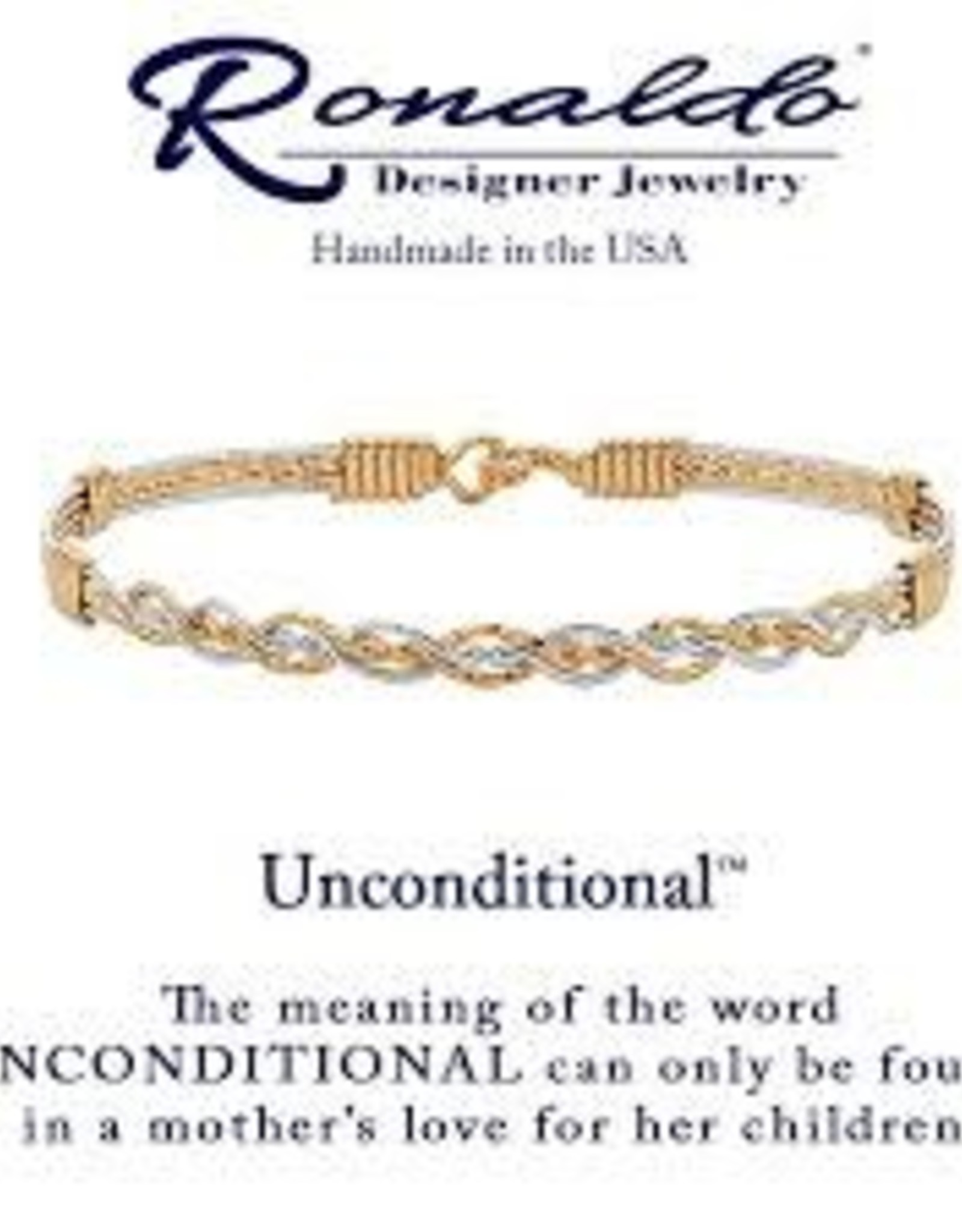 Ronaldo Ronaldo Bracelet-Unconditional Love