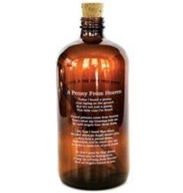 Studio Penny Lane Penny Lane- Penny From Heaven Jar (amber)