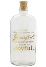 Studio Penny Lane Penny Lane-Joyful Jar (Clear with Gold)