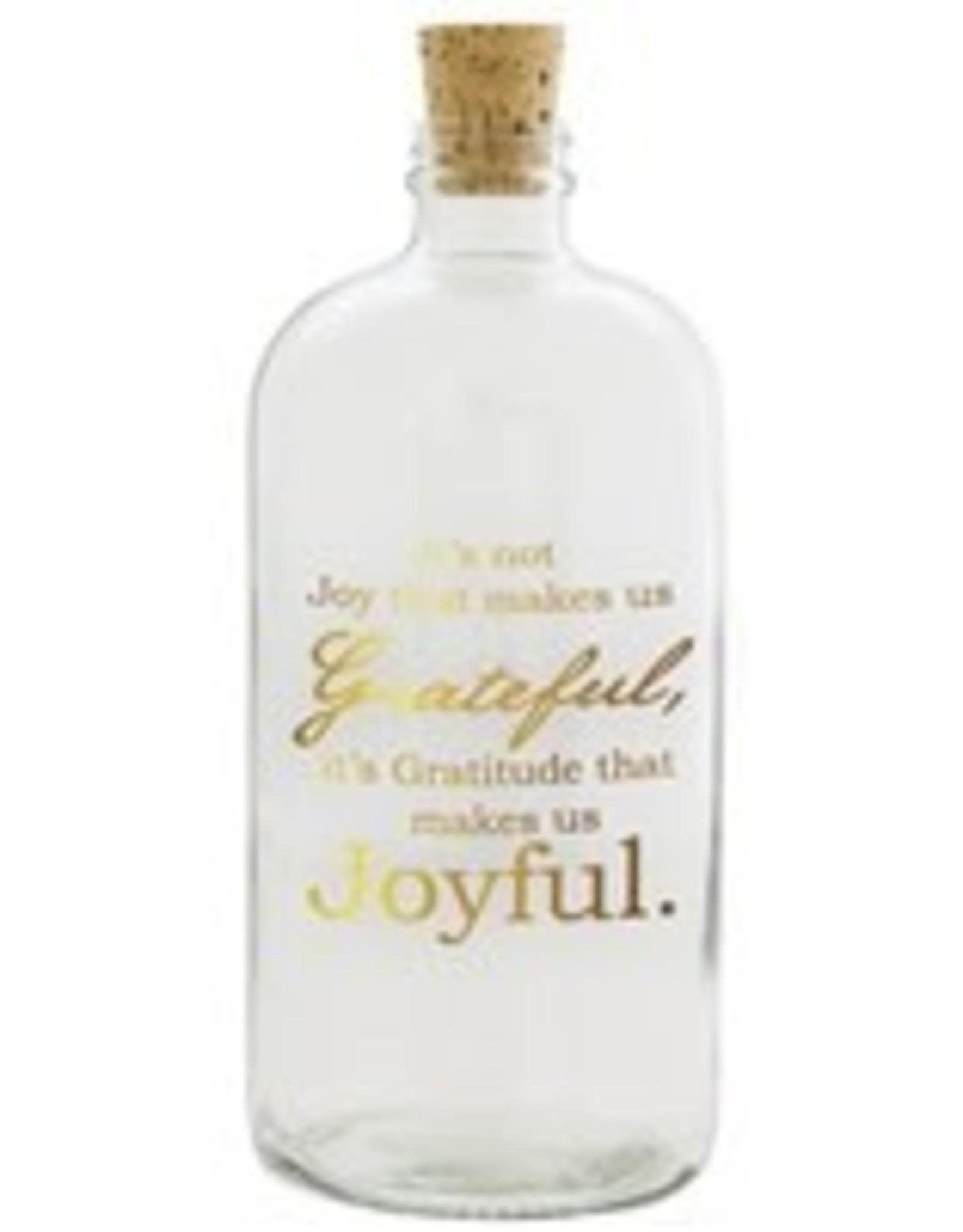 Penny Lane-Joyful Jar (Clear with Gold)