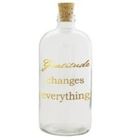Studio Penny Lane Penny Lane-Gratitude Changes Everything (Clear, Gold Print)