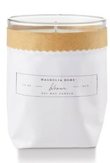 Magnolia Bagged Glass Candle- Bloom