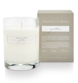 Magnolia Boxed Glass Candle- Gather