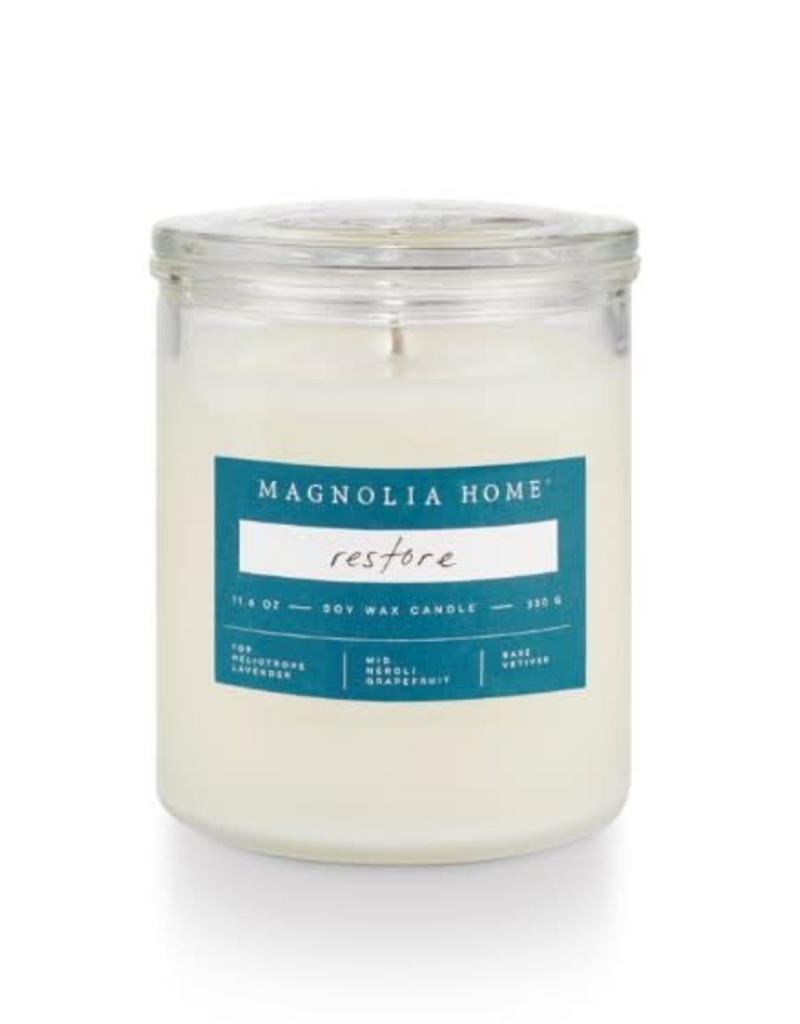 Magnolia Glass Jar- Restore