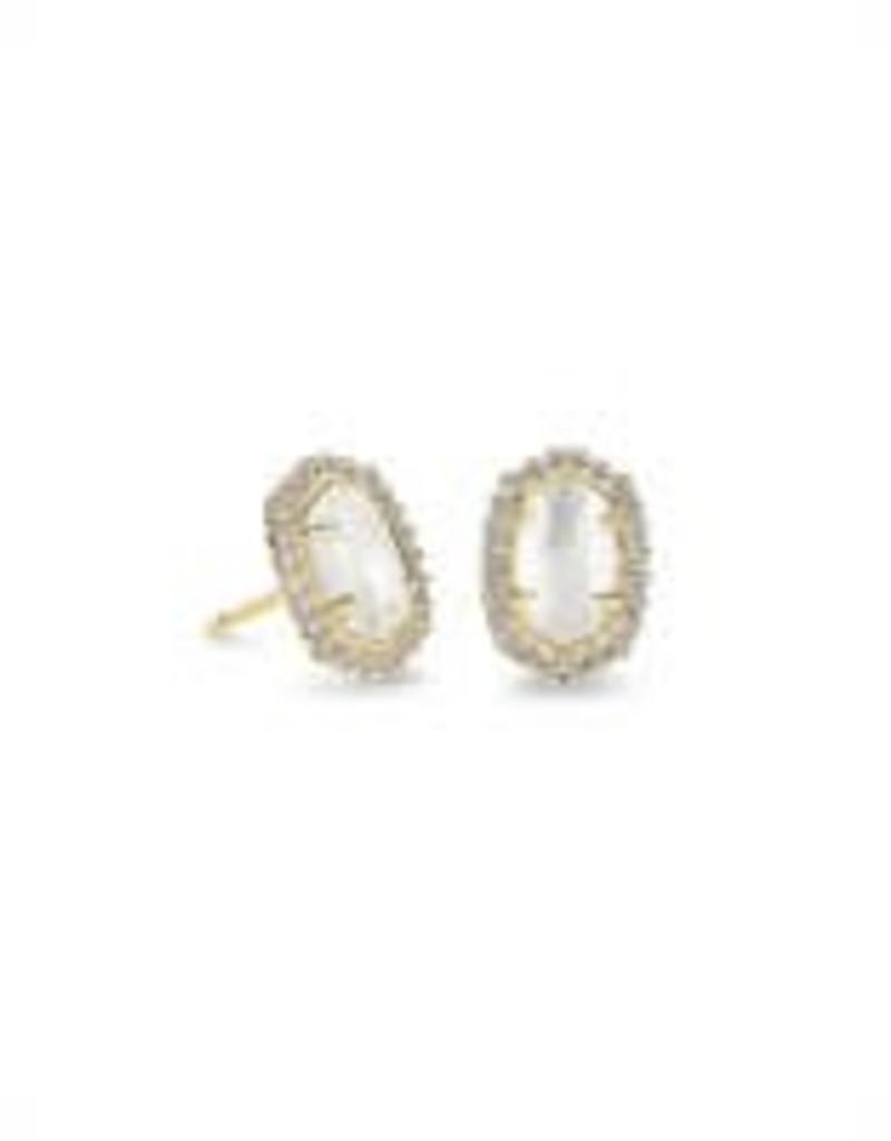 Kendra Scott Kendra Scott Cade Gold Earring