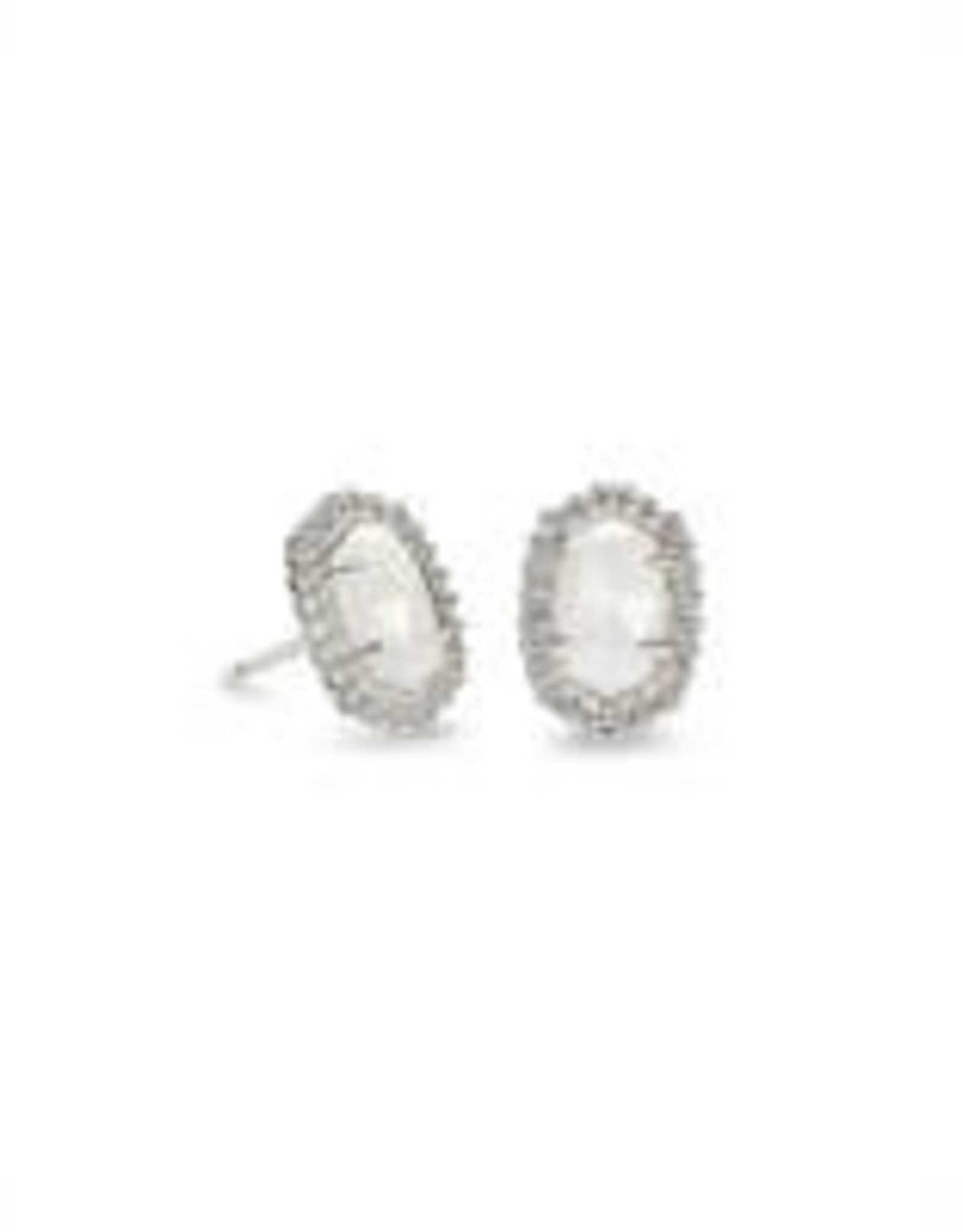 Kendra Scott Kendra Scott Cade Rhodium Earring
