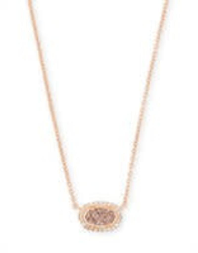 Kendra Scott Kendra Scott Rose Gold Chelsea Necklace