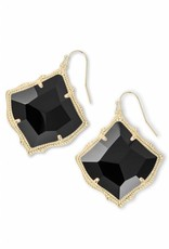 Kendra Scott Kendra Scott Kirsten Earring gold black