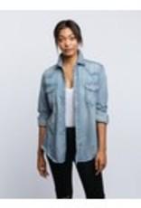 FashionABLE FashionABLE- Western Denim Shirt