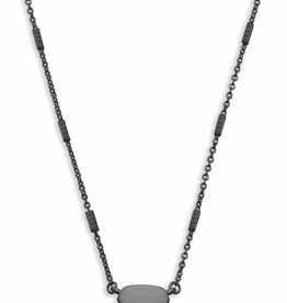 Kendra Scott KENDRA SCOTT Necklace Fern- Gun Metal