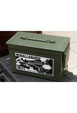 00 Buckshot 12 GA 2-3/4″, Can of 175 Rds
