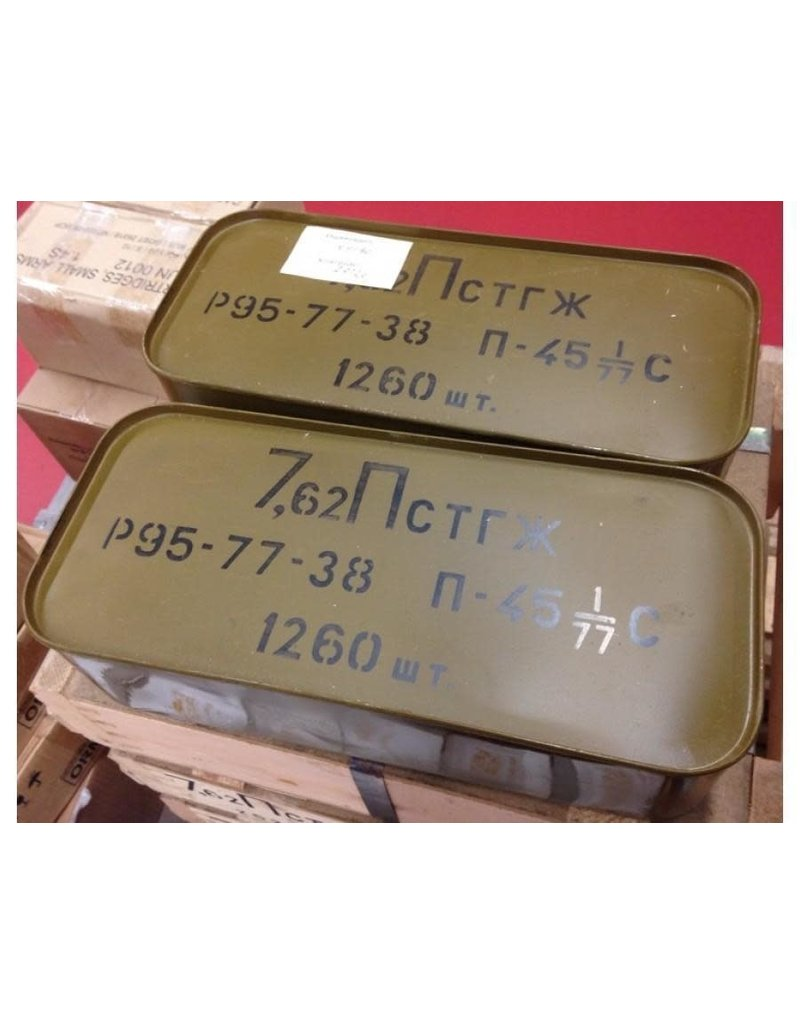 Sellier & Bellot 7.62 x 25mm Tokarev Ammo