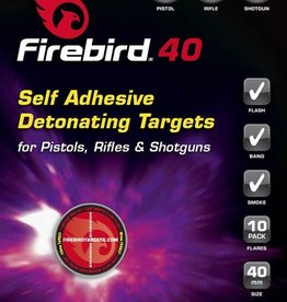 Firebird FB40 Exploding Self Adhesive Reactive Targets