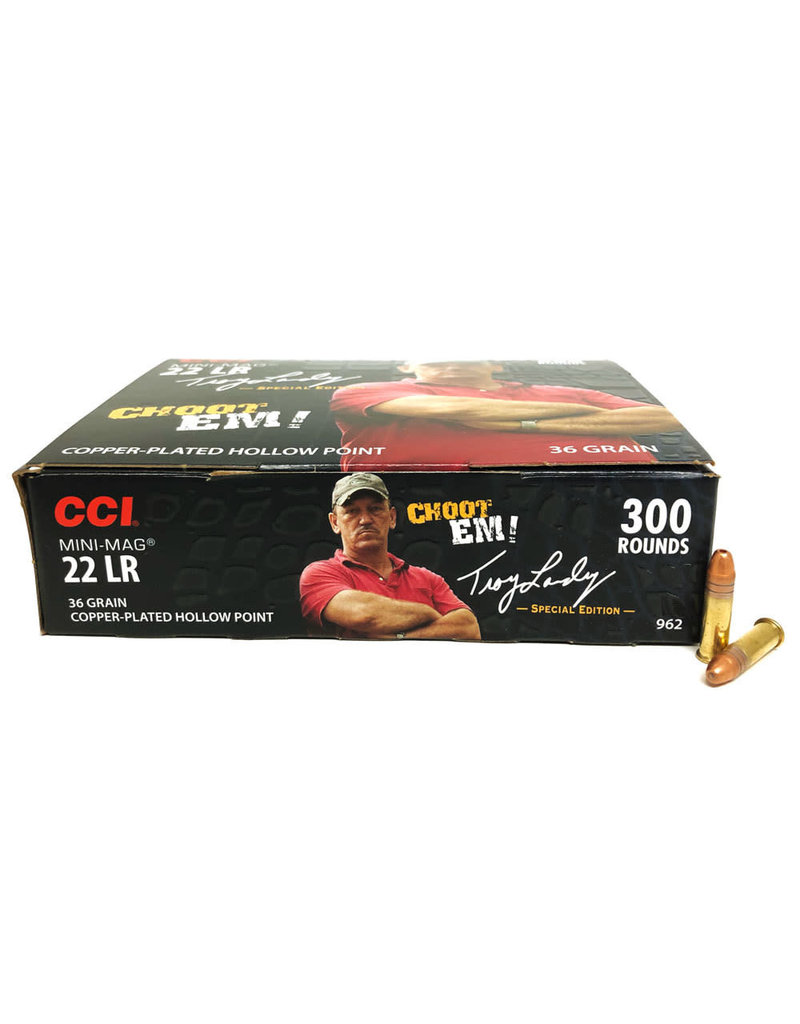 CCI Mini-Mag .22 LR Troy Landry Edition - 300 Rounds