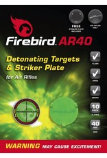 Firebird AR40 Exploding Self Adhesive Reactive Targets