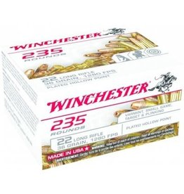 Winchester 22LR Plated Hollow Point, Box of 235