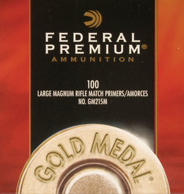Federal Large Rifle Magnum Primers #GM215M