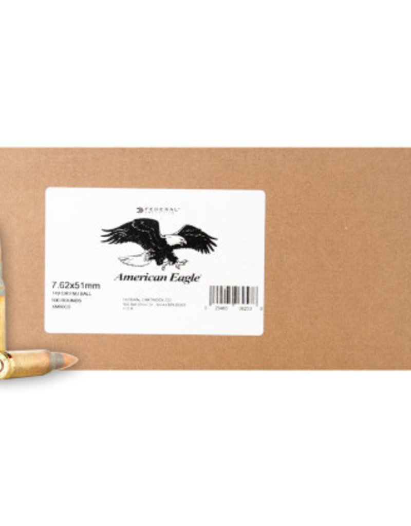 Federal Lake City 7.62×51 FMJ 149 Gr Case of 500