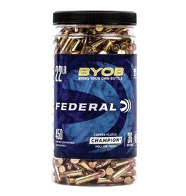 Federal BYOB .22 LR 450 Rounds 36 Grain CPHP