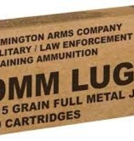 Remington 9mm Luger Ammo 115 Grain FMJ